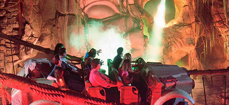 Indiana Jones and the Temple of the Forbidden Eye at Disneyland