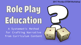 Role Play Education Slideshow Title Slide