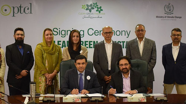 PTCL & Ministry of Climate Change Collaborate for Clean Green Pakistan