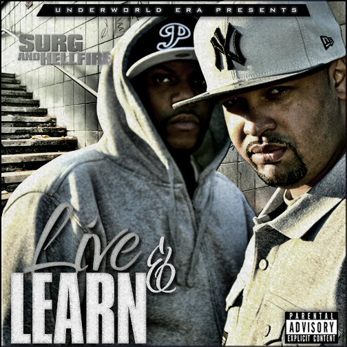 """Listen to """"Live & Learn"""" album by Surg & Hellfire on Bandcamp"""