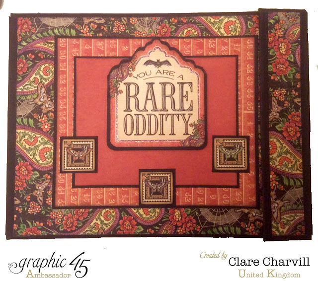 Rare Oddities Album Clare Charvill Graphic 45