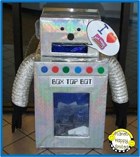 Box Top Robot ~ Planet Happy Smiles
