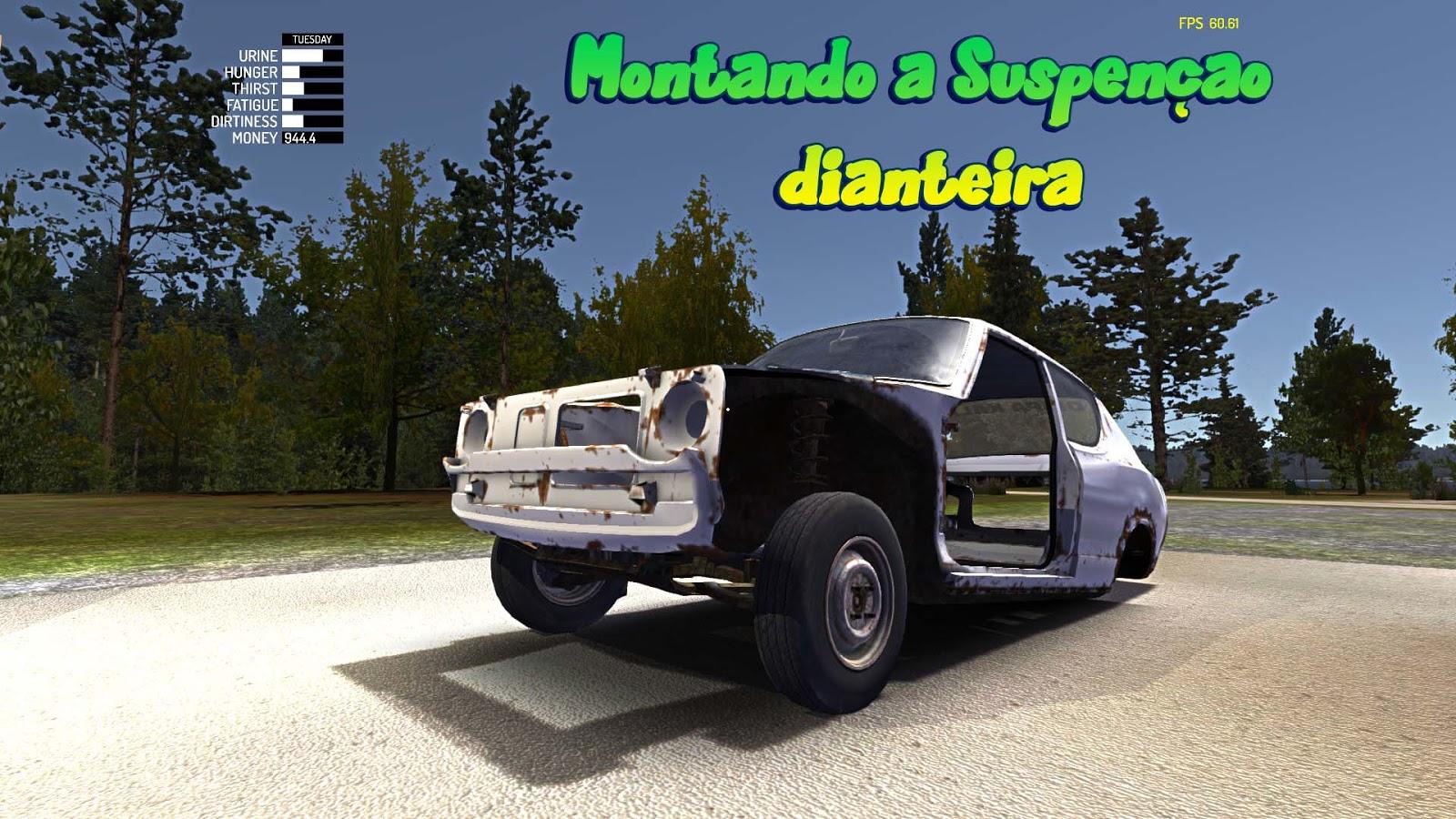 Tutorial Montando A Suspensão Dianteira My Summer Car Brasil