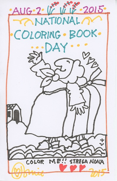 The official tomie depaola blog coloring book day for Tomie depaola coloring pages