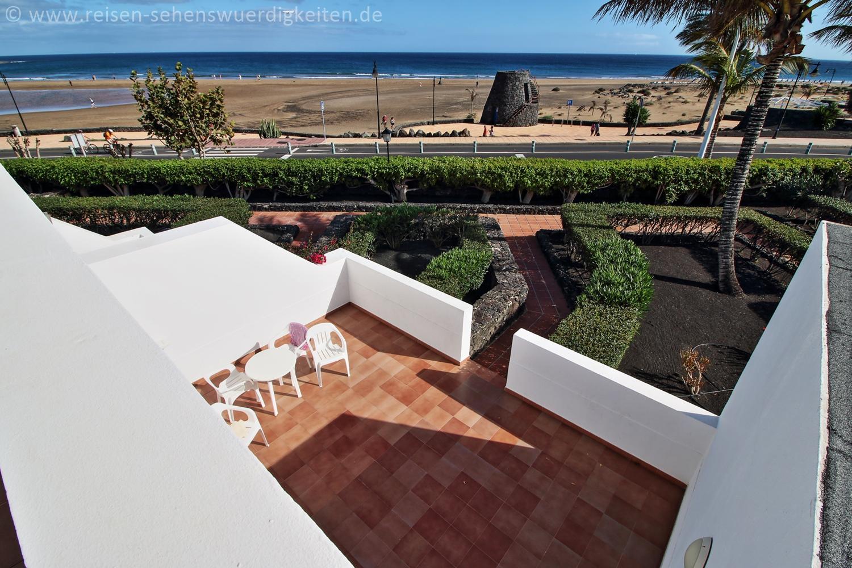 Apartement mit Meerblick - Riu Paraiso Lanzarote Resort