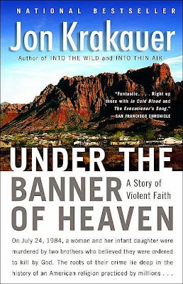 Under the Banner of Heaven by Jon Krakauer – book cover