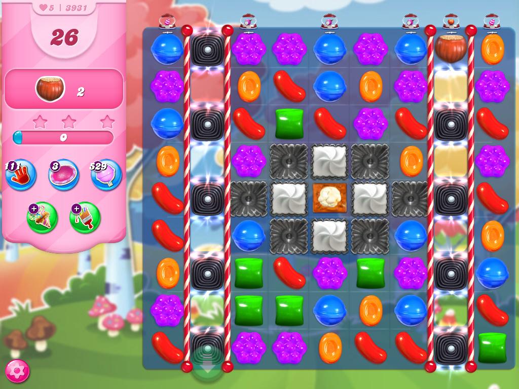 Candy Crush Saga level 3931
