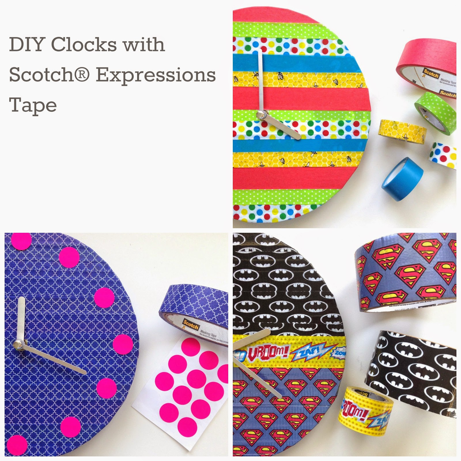 mousehouse diy pin board with scotch® expressions tape