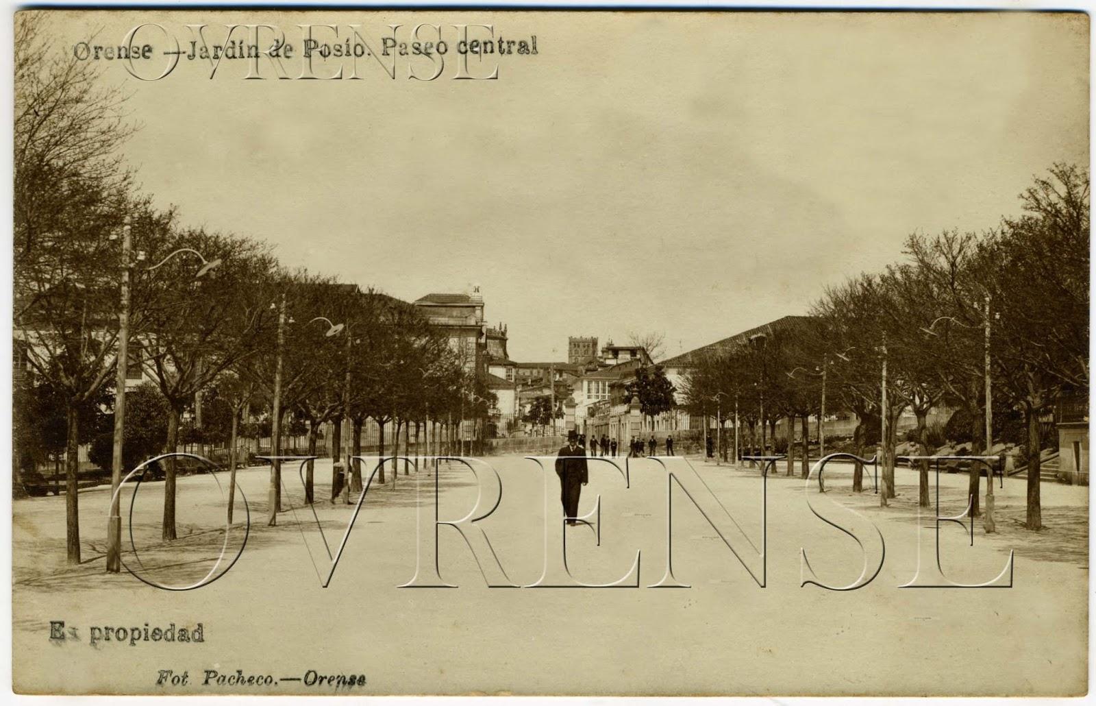 Ourense no tempo el pos o for Jardin del posio ourense