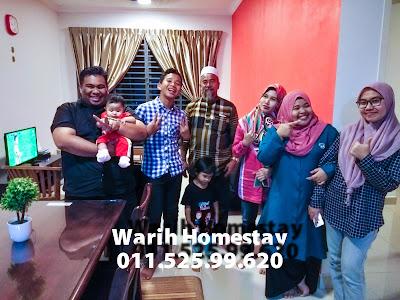 Warih-Homestay-EnRidwan-Sekeluarga