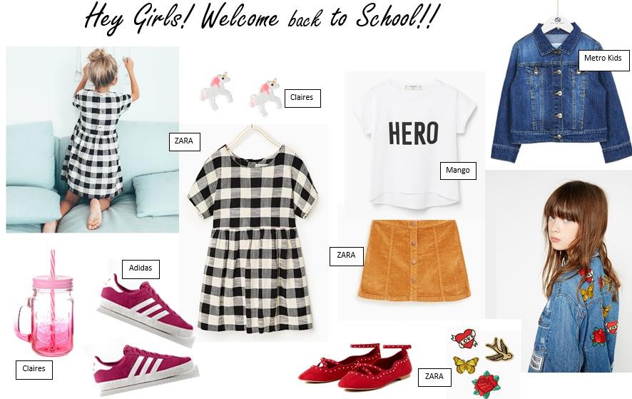 #ITMOMENT   Back to School - Meninas  