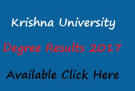 schools9 krishna university results 2017