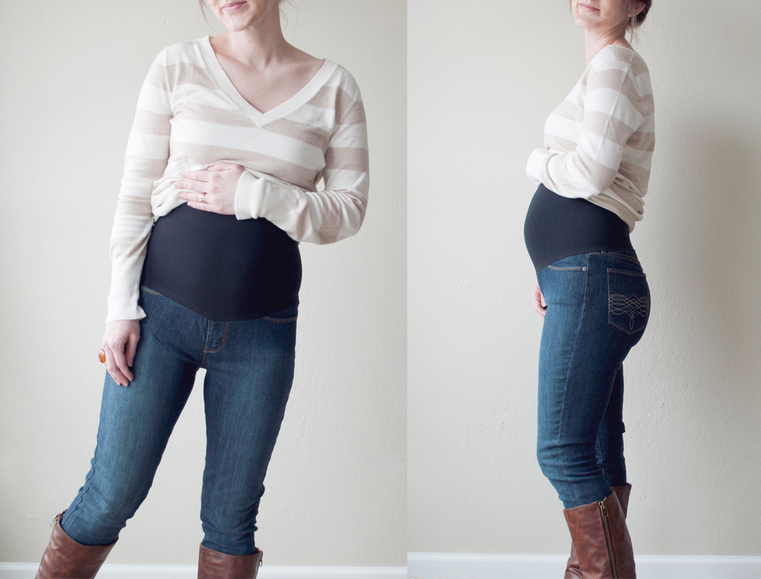 Diy Maternity Clothes Pocketful Of Pretty Diy Maternity Jeans