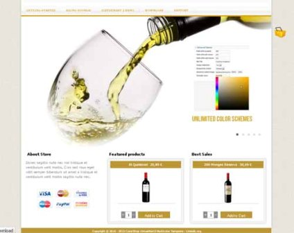 Free ColorShop Lite Tested VirtueMart 2.0.2 and Joomla 2.5.1. Update is Recommended