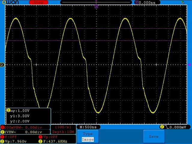 Измерения гибридного усилителя на лампе 6J1 (аналог 6Ж1П) и микросхеме LM1875T