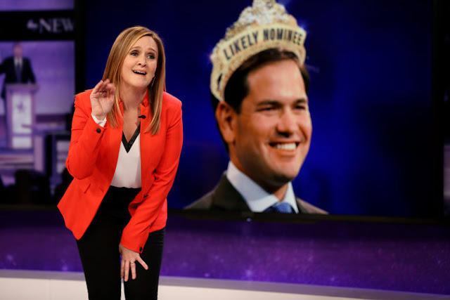 Samantha Bee's Fierce, Fiery Feminism Anchors 'Full Frontal'