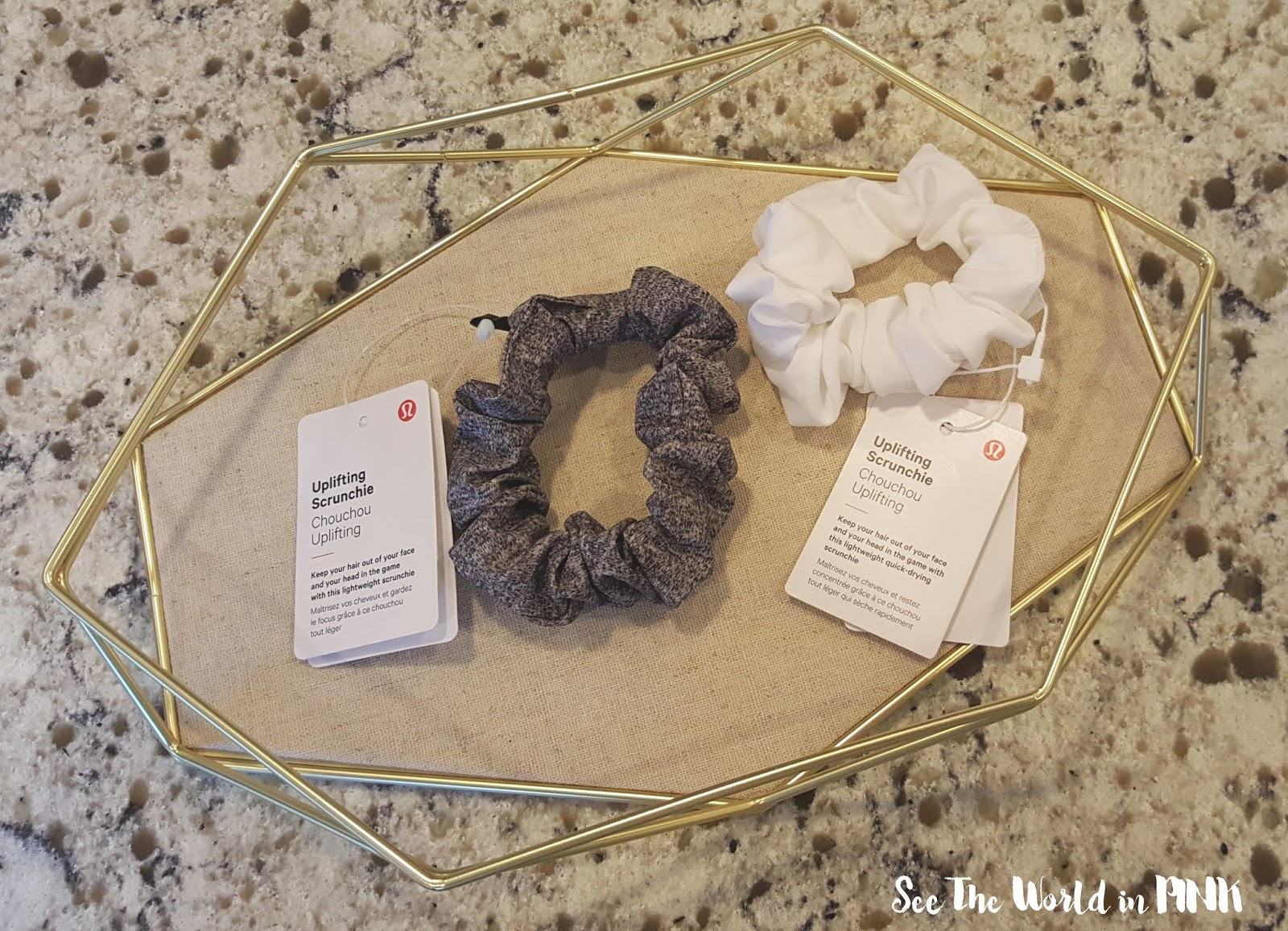 lululemon uplifting scrunchie