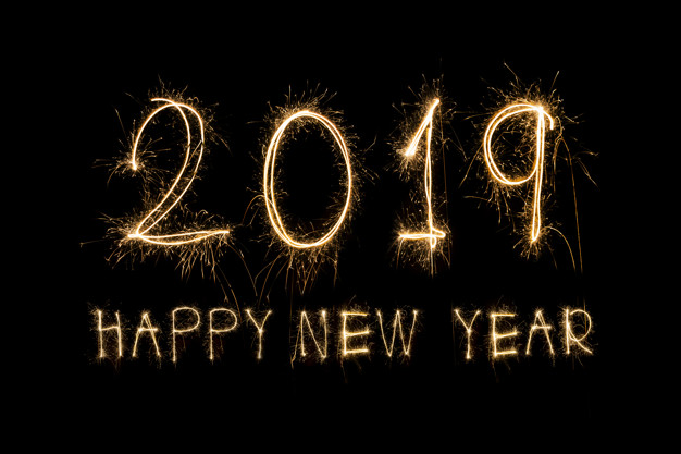 Happy New Year 2019 HD Wallpaper, Images, GIF Download