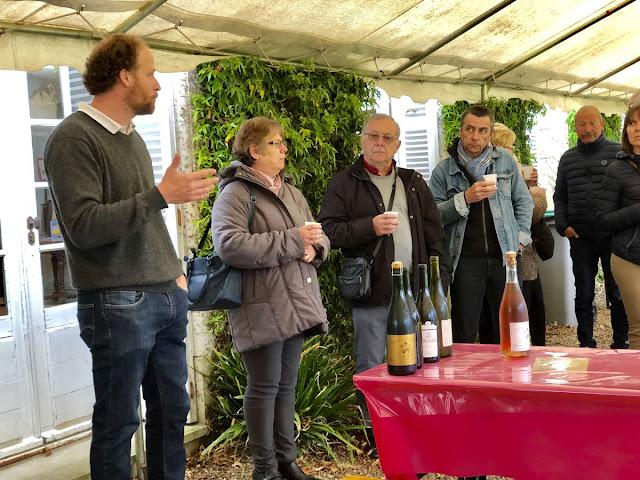 degustare de vinuri la castelul valmer valea loarei franta