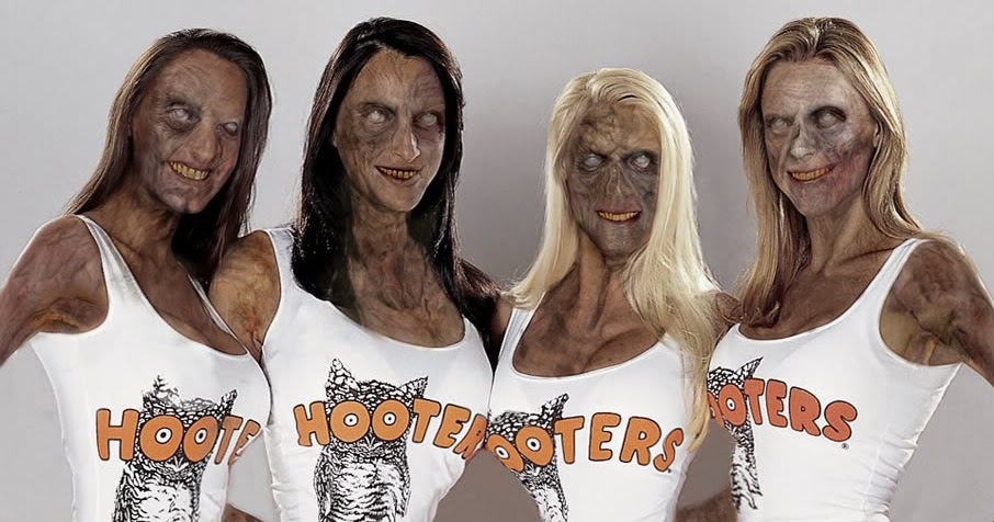nude women from hooters