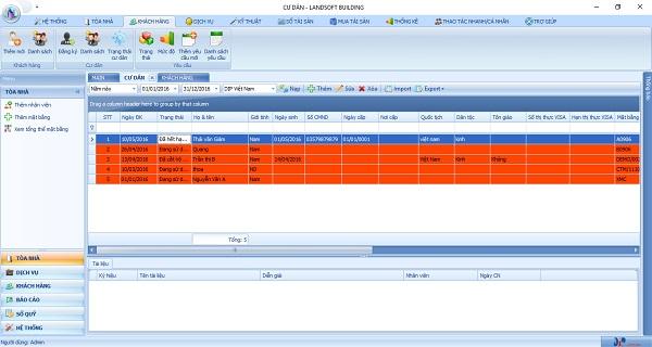 Quản lý thông tin chi tiết khách hàng