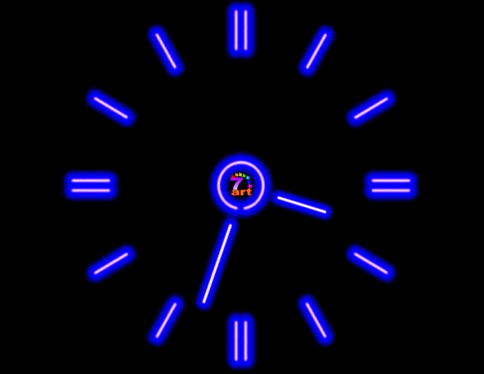 Polar Clock Desktop Background Windows 7 | Zoom Wallpapers