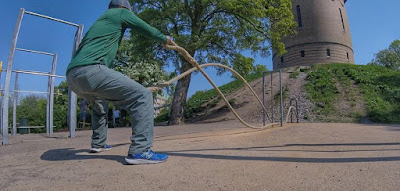 Outdoor Gyms in Malmo Sweden, Pildademmsparken, Pildademmsparken Outdoor Park, Beachbody Coach travel