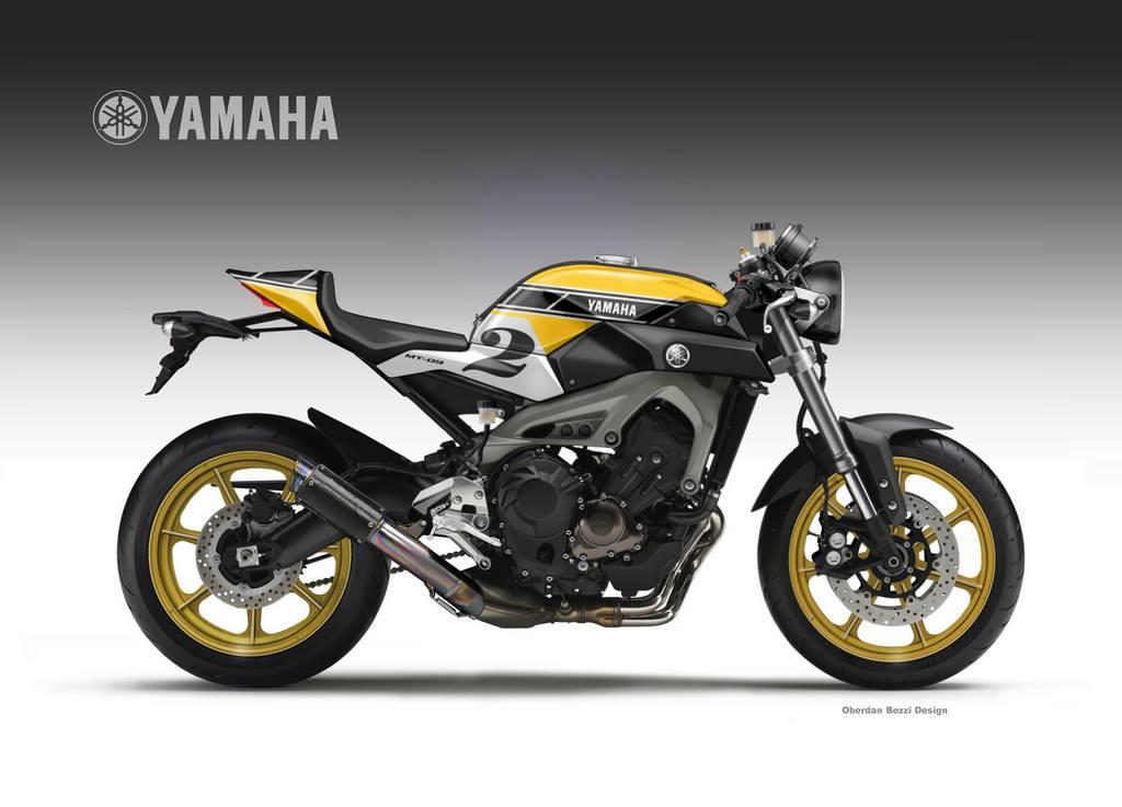 yamaha mt 09 faster son rocketgarage cafe racer magazine. Black Bedroom Furniture Sets. Home Design Ideas