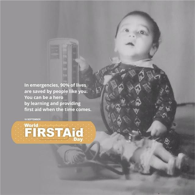 World First Aid Day - Sanjeev Juneja
