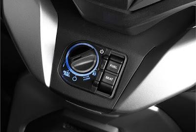 Saklar kunci Honda Forza 300 2018 atau Forza 250