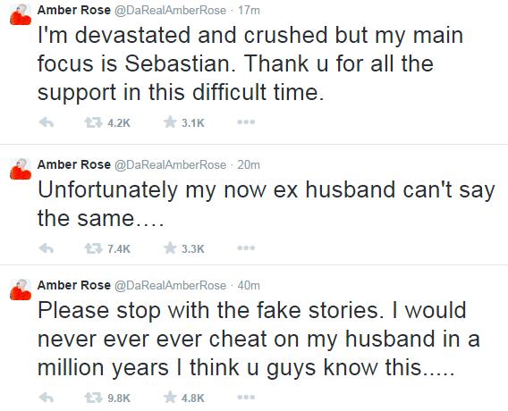 GBAM! Wiz Khalifa Cheated on Me - Amber Rose breaks her silence