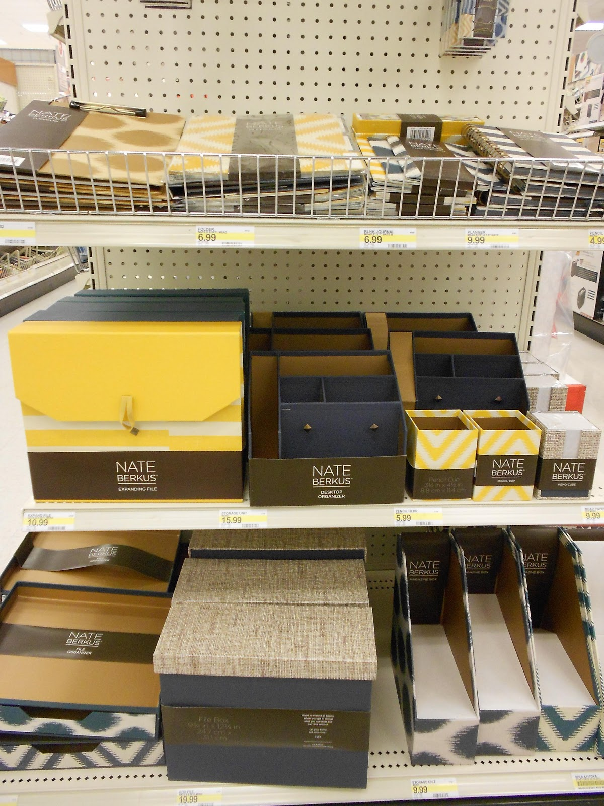 Incroyable Tracy S Notebook Of Style Nate Berkus For Mead At Target