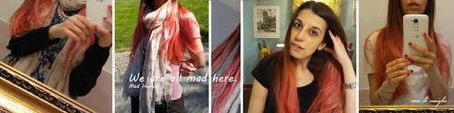 i miei primi 40 anni, capelli rosa