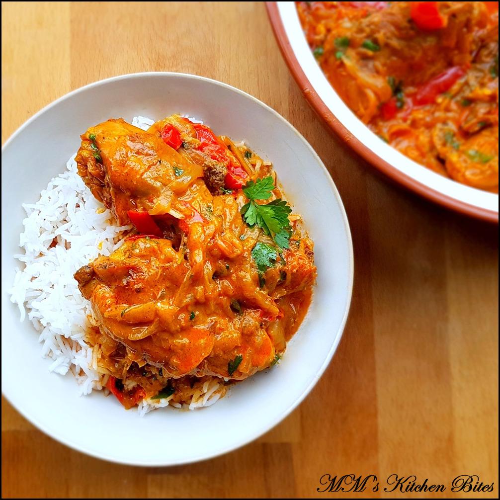 MM's Kitchen Bites: Hungarian Chicken Paprikash...colour my life!!