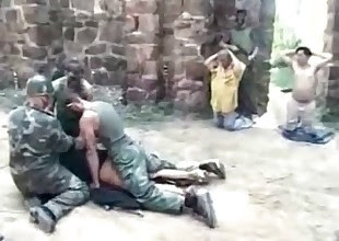 3 Dirty Marines raped an innocent chick