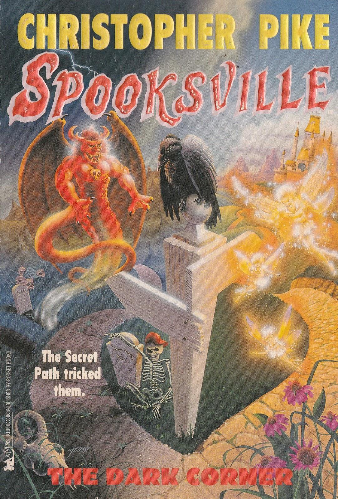 Series Books For Girls Spooksville 7 The Dark Corner And