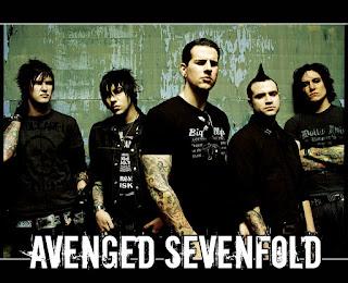 Photo des membres d'Avenged Sevenfold