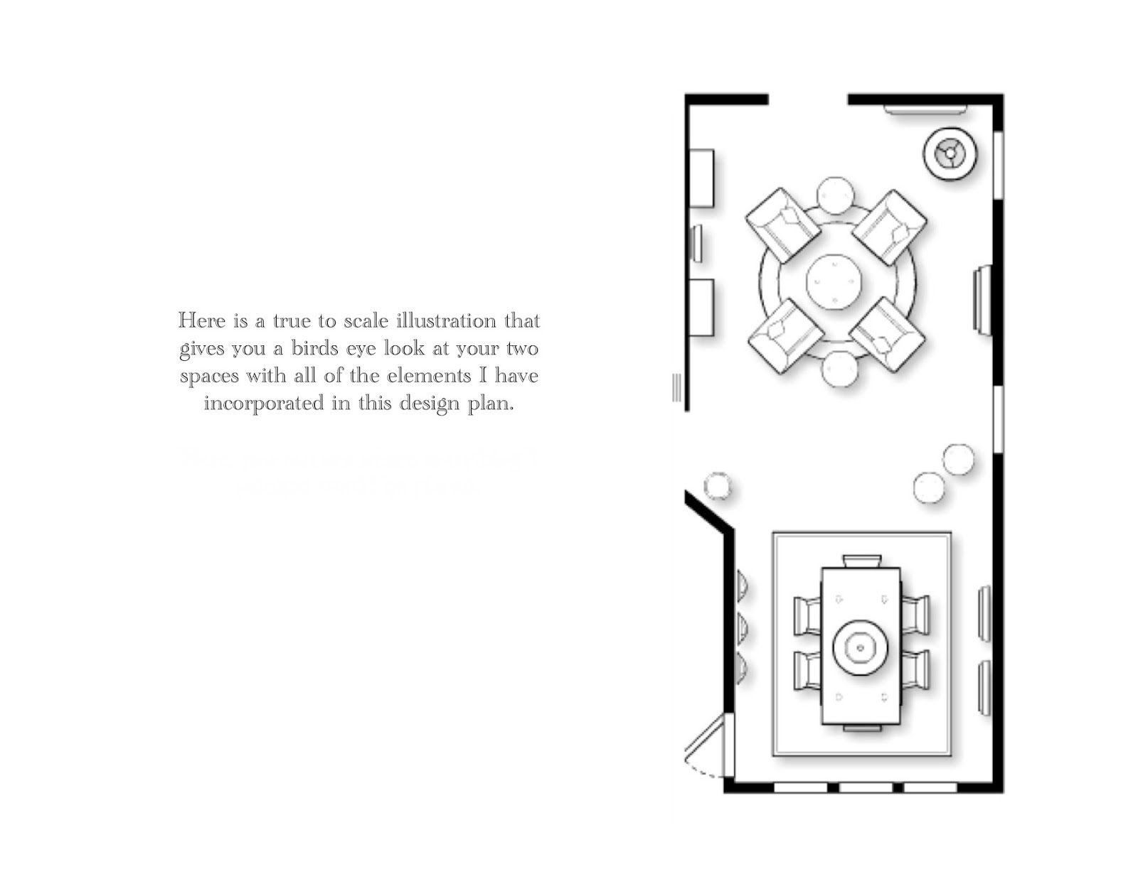 Here Is Another Look At The Design Boards For Living Room And Dining Side By