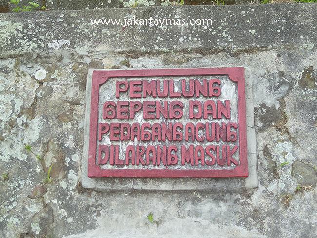 Prohibida la entrada a los pemulung