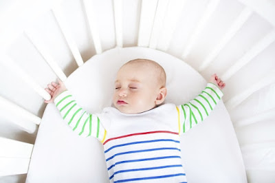 Note the Baby Safe Sleep Position