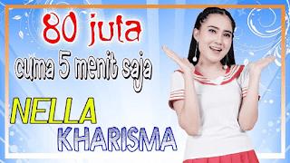 Lirik Lagu 80 Juta (Cuma 5 Menit Saja) - Nella Kharisma