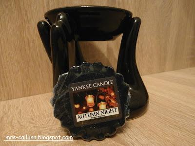 Wosk Yankee Candle Autumn Night nie tylko na jesienne wieczory