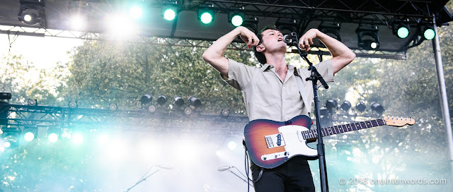 Ought at Royal Mountain Records Festival at RBG Royal Botanical Gardens Arboretum on September 2, 2018 Photo by John Ordean at One In Ten Words oneintenwords.com toronto indie alternative live music blog concert photography pictures photos