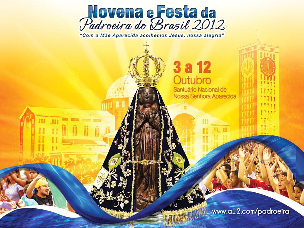 Nossa Senhora Aparecida Mãe Da Família Brasileira: Pascom Nova Cruz: Festa Da Rainha E Padroeira Do Brasil