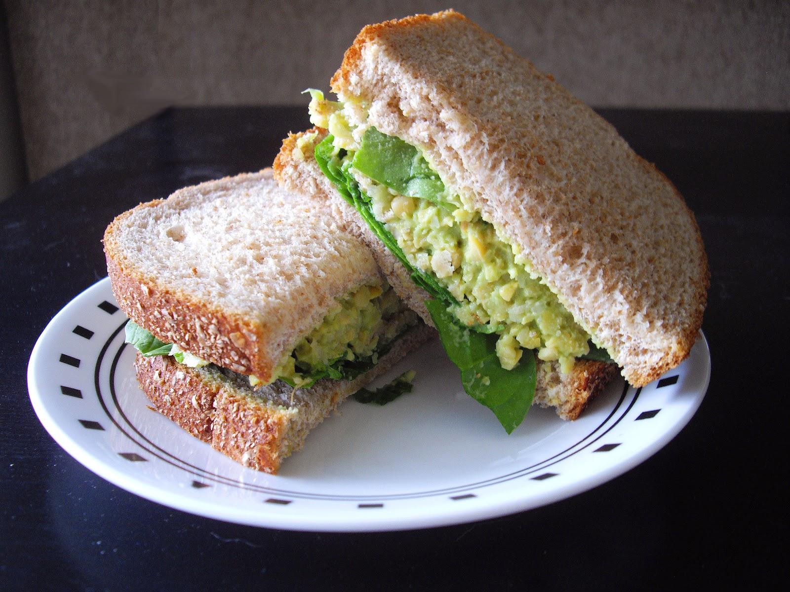 Smashed Chickpea & Avocado Sandwich | cooking ala mel