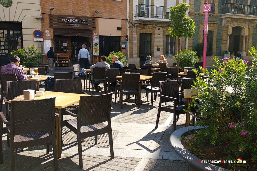 El Portichuelo, tapas Huelva