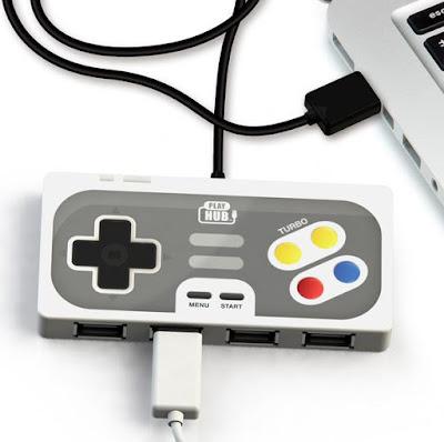 Retro Controller USB Hub
