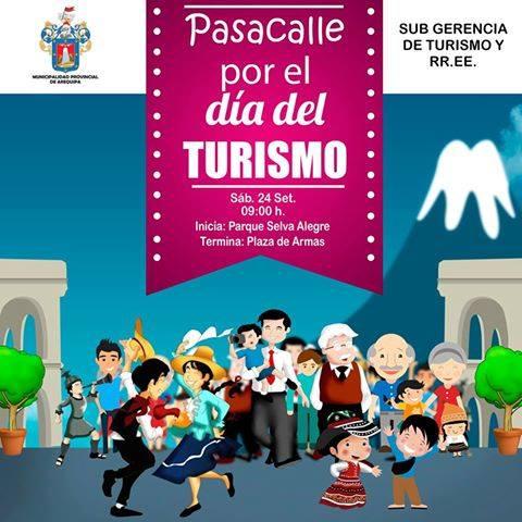 Pasacalle Por el Día Mundial del Turismo - 24 de setiembre