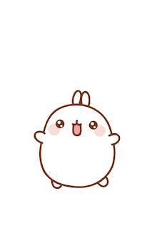 Imágenes Kawaii Tiernas Hermosas Amor Conejo Fondos