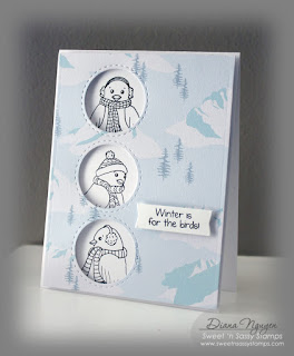 Diana Nguyen, Sweet 'n Sassy stamps, for the birds
